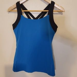 Lucy Criss Cross Back Tank Top